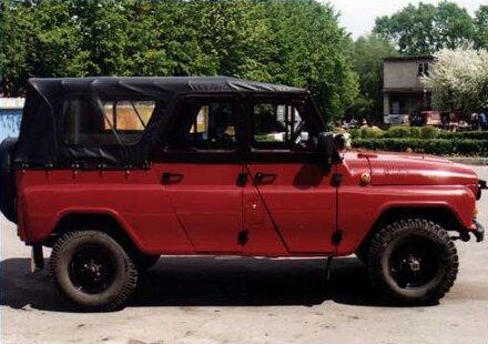 Семейство автомобилей уаз 469 и уаз 3151